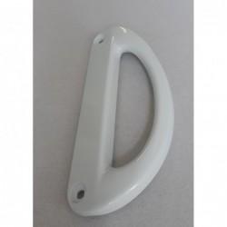 Rankena balta, plastikinė D253111-O