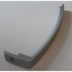 Rankena aliuminio spalvos, prisukama 1 varžteliu, plastikinė D253131-A