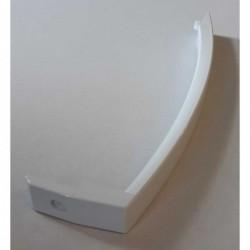 Rankena balta, prisukama 1 varžteliu, plastikinė D253131-O