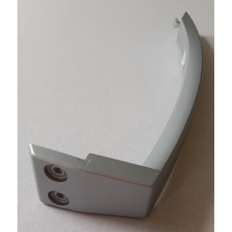 Rankena aliuminio spalvos, prisukama 2 varžteliais, plastikinė D253139-A