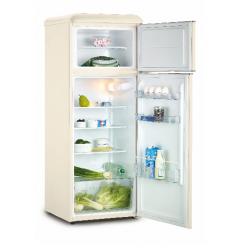 FR25SM-PRC30F3 šaldytuvas su šaldikliu viršuje Snaigė Retro FR25SM-PRC30F300ADS6XSN0X
