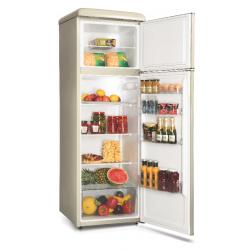 FR27SM-PRC30F3 šaldytuvas su šaldikliu viršuje Snaigė Retro FR27SM-PRC30F310ADS6XSN0X